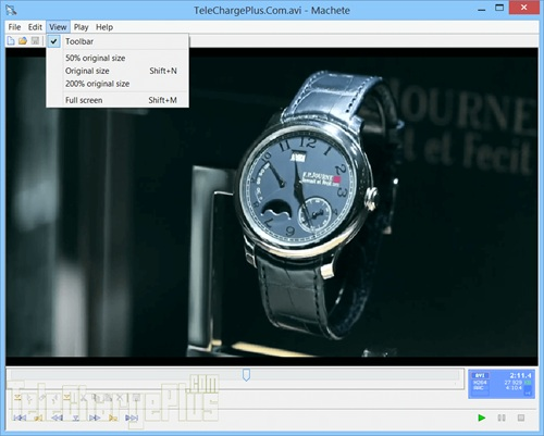 Phần mềm Machete Video Editor Lite