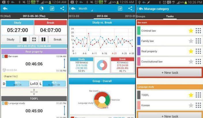 Phần mềm quản lý học tập Study Checker