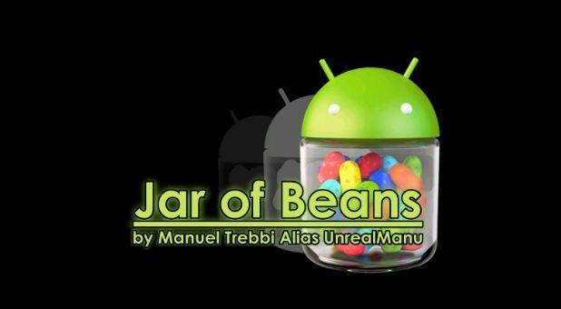 Jar of beans