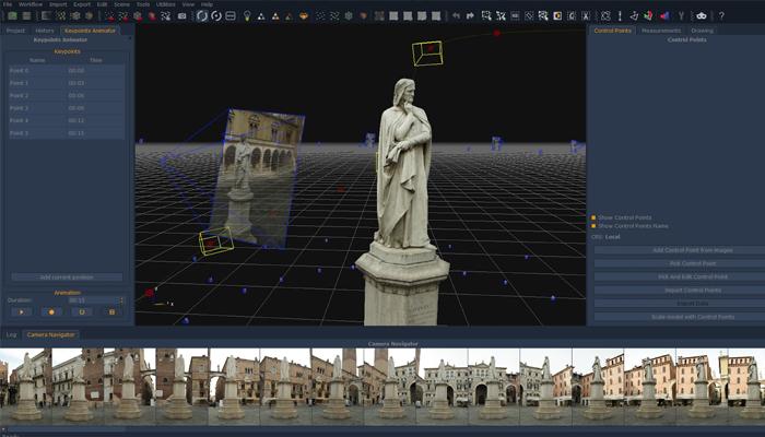Ứng dụng tạo mô hình 3D từ ảnh - 3DF Zephyr